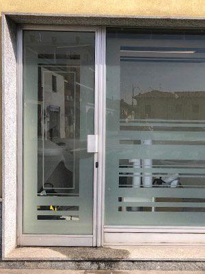 decorazione protezione vetrate disegno estetico