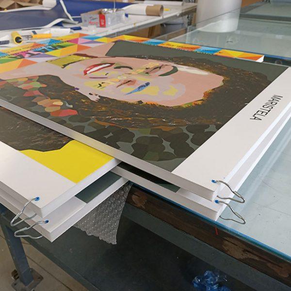 pannelli di plastica per quadri di grande formato